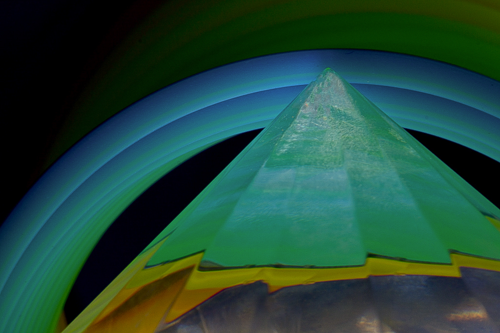 "10 - ""Blue Arc"" © 2014 by Russ Sernau (USA)"