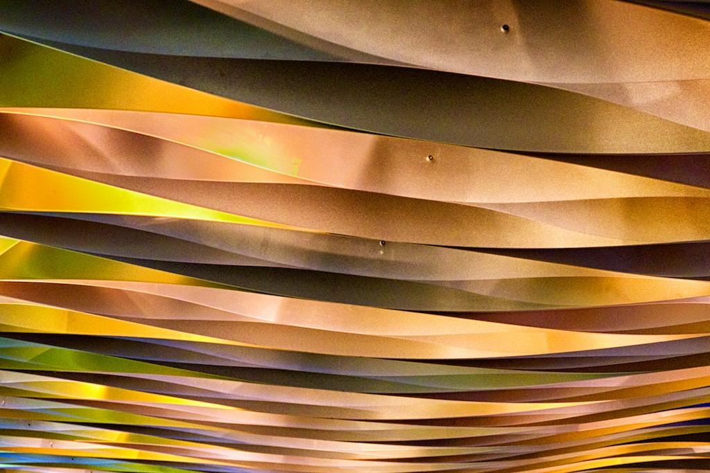 """68 - """"Vagues colorées (Colored Waves)""""  © 2014 Roger Maillette (Canada)"""